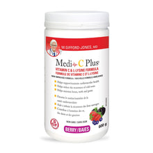 W.Gifford-Jones, MD - Medi-C Plus powder,  berry flavour, 600g jars