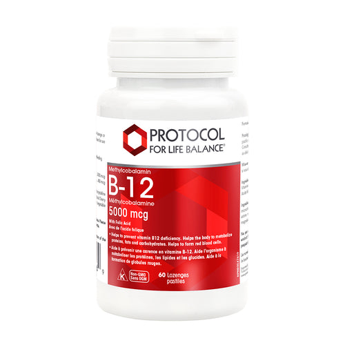 Protocol Methyl B-12 Lozenges (5000mcg)