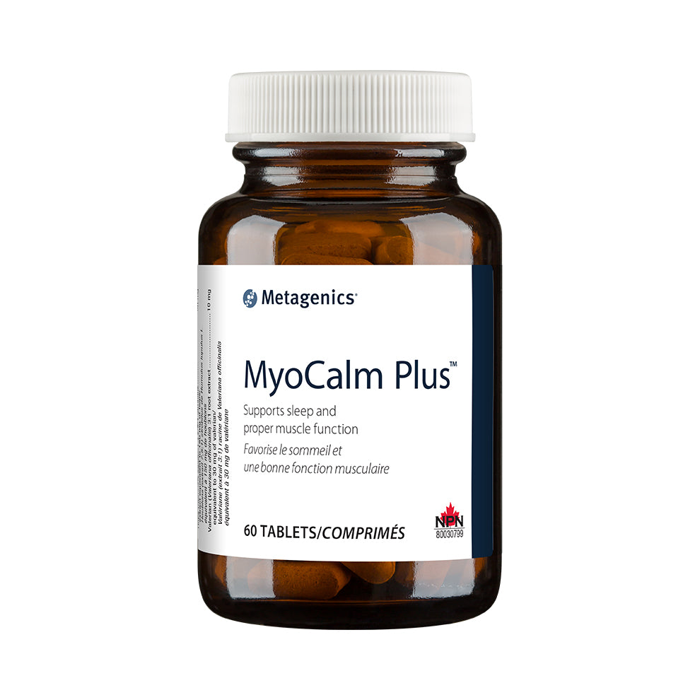 Metagenics MyoCalm Plus, 60 Tablets bottle