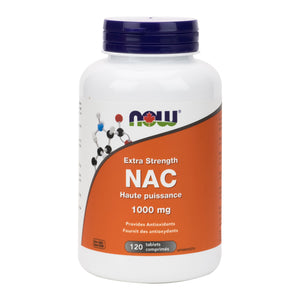 NOW Extra Strength (1000mg) NAC (N-Acetyl Cysteine)
