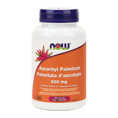 NOW Ascorbyl Palmitate, in new label type