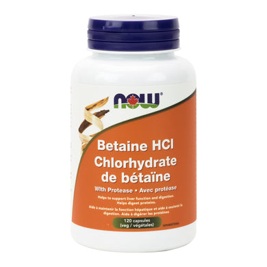 NOW Betaine HCl