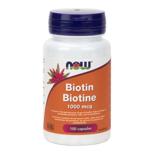 NOW Biotin, 1000mg Strength