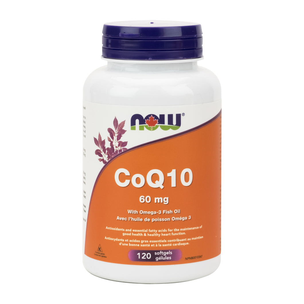 NOW CoQ10 with Omega 3 Fish Oil