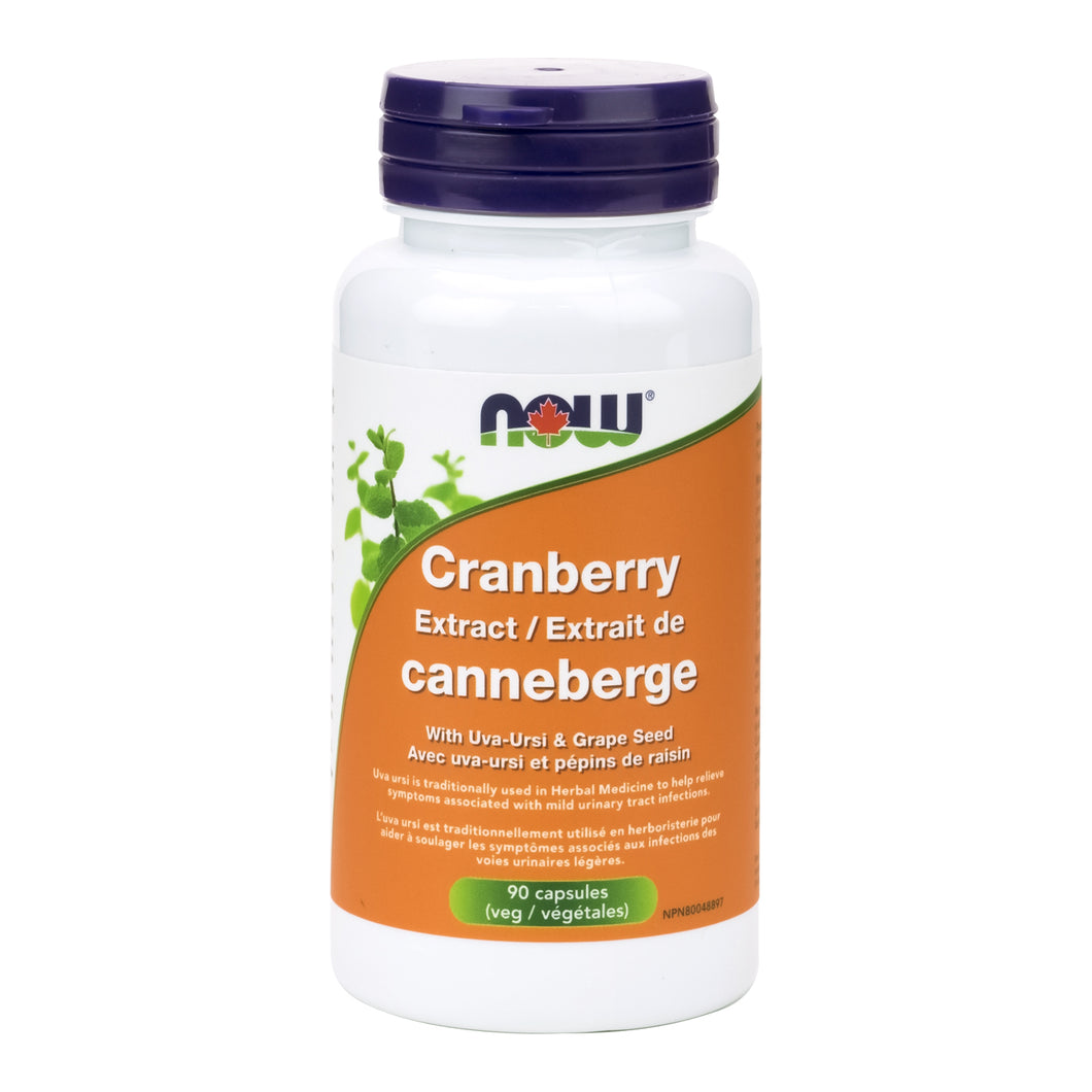 NOW Cranberry with Uva-Ursi & Grape Seed