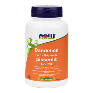 NOW Dandelion Root 500mg Capsules
