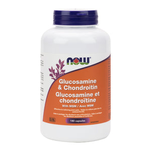 NOW Glucosamine & Chondroitin with MSM