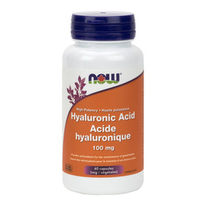 NOW Hyaluronic Acid, Double Strength