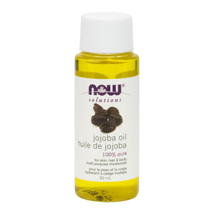30 ml bottle of NOW 100% Pure Jojoba Oil