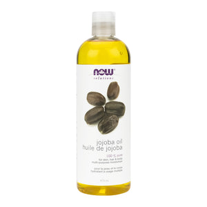 473ml Bottle of NOW 100% Pure Jojoba Oil