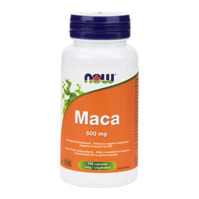 NOW Maca (500mg Capsules)