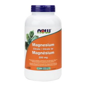 NOW Magnesium Citrate Tablets