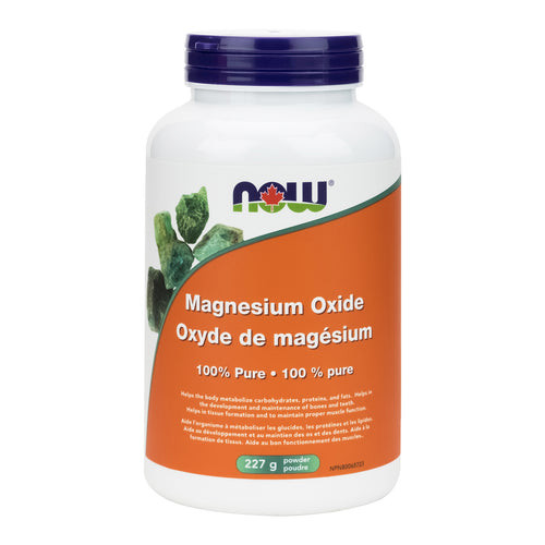 NOW Magnesium Oxide Powder (227g)
