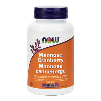 NOW Mannose Cranberry