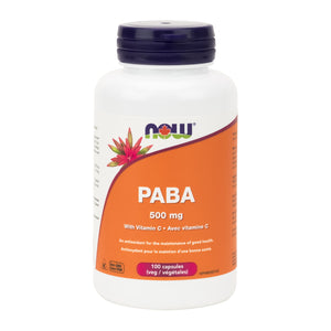 NOW PABA with Vitamin C