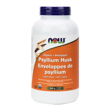 113g Jar of NOW Organic Psyllium Powder