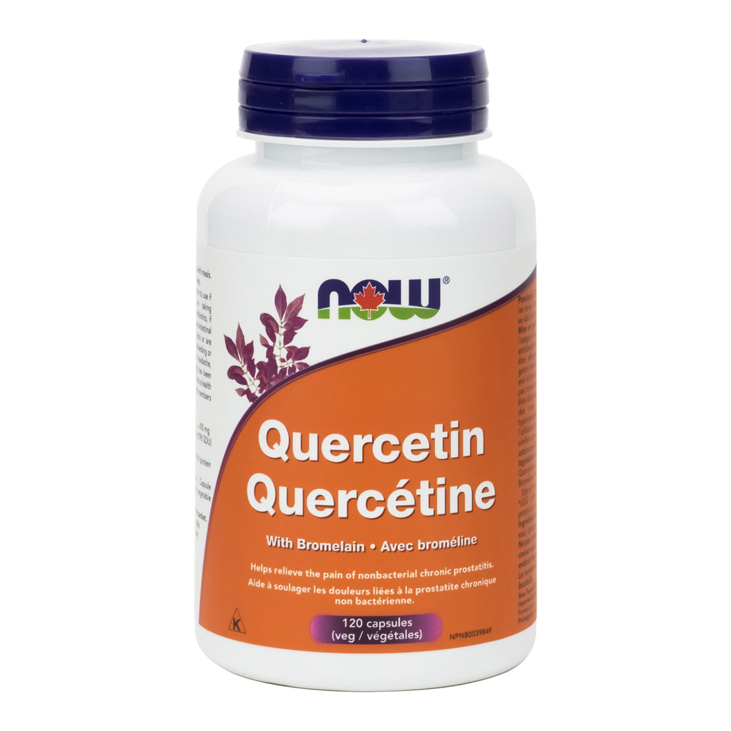 NOW Quercetin with Bromelain