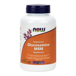 NOW Vegetarian Glucosamine & MSM