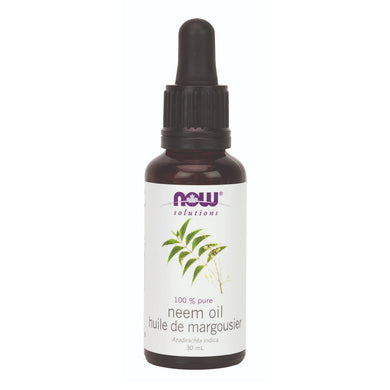30 ml bottle of NOW 100% Pure Neem Oil