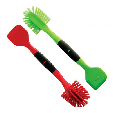 Norpro Scrub Brush Scrapers, in Red and Green