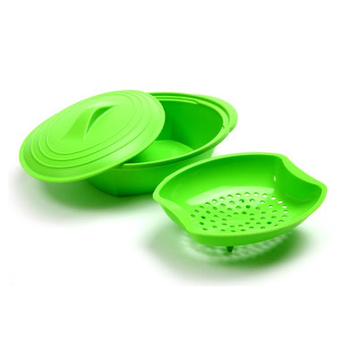 Norpro Silicone Steamer with Insert