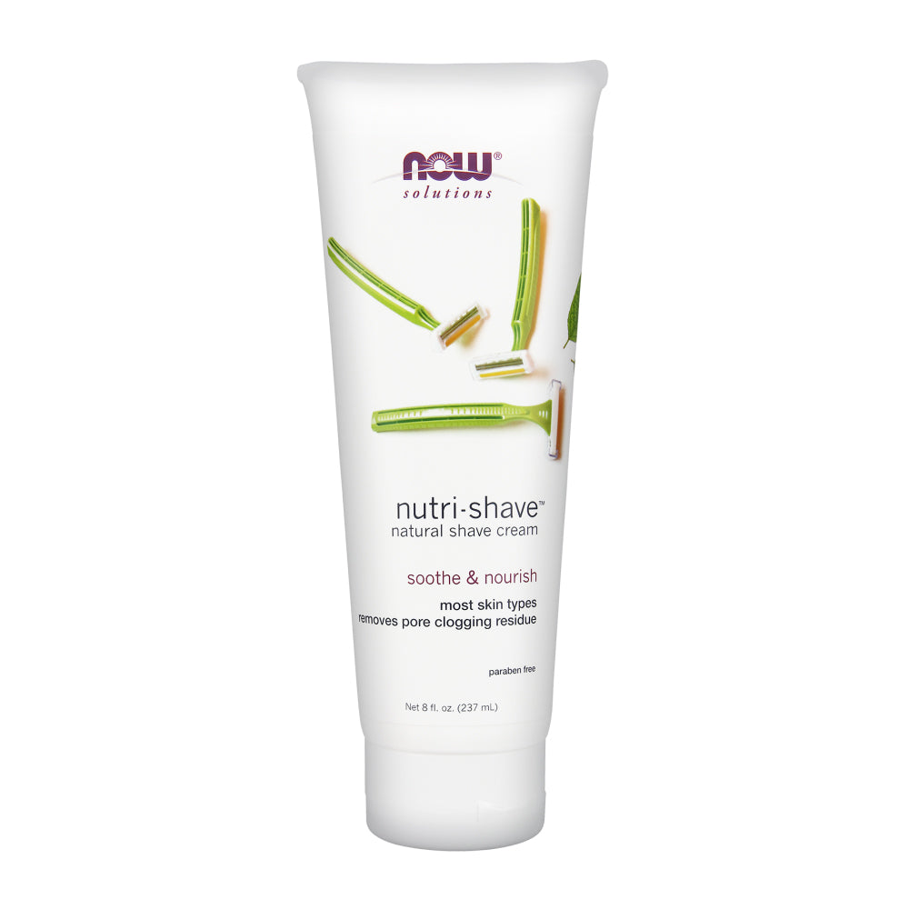 Tube of NOW Nutri-Shave