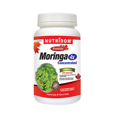 Nutridom Moringa 4x Concentrated Capsules