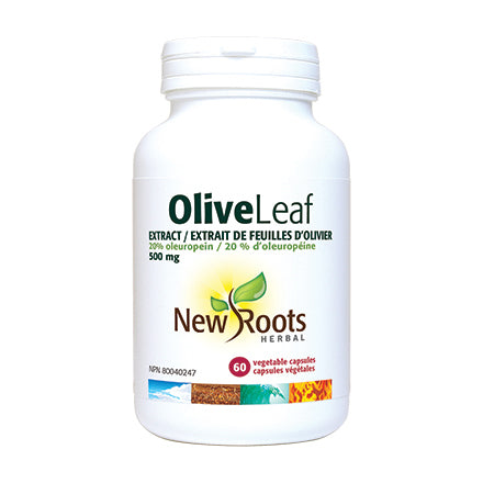 New Roots Herbal Olive Leaf Extract Capsules