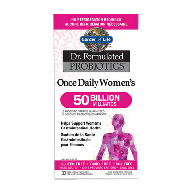 Garden of Life - Dr. Formulated Probiotics - Once Daily Women's