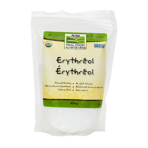 NOW Organic Erythritol (454g)