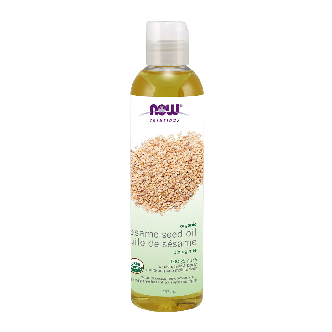 NOW Organic Sesame Seed Oil