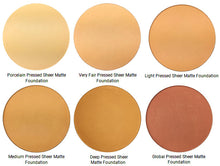 Load image into Gallery viewer, Pure Anada Sheer Matte Pressed Mineral Foundation colours