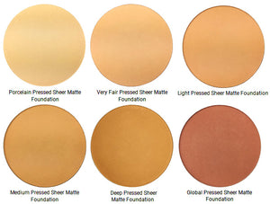 Pure Anada Sheer Matte Pressed Mineral Foundation colours