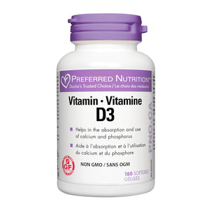 Preferred Nutrition Vitamin D3
