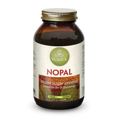 bottle of Purica Nopal Powder
