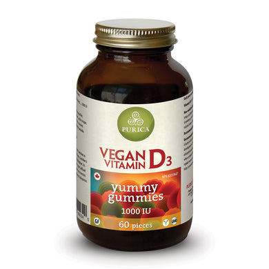 Purica Vegan Vitamin D3 Yummy Gummies