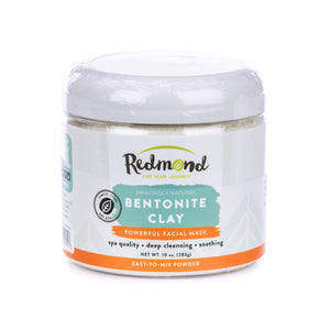 Redmond Clay Bentonite Clay Powder, current packaging