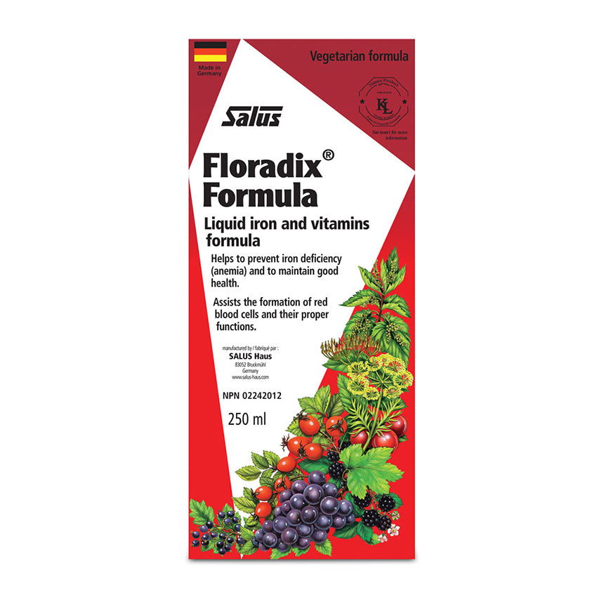 Salus Floradix 250ml package