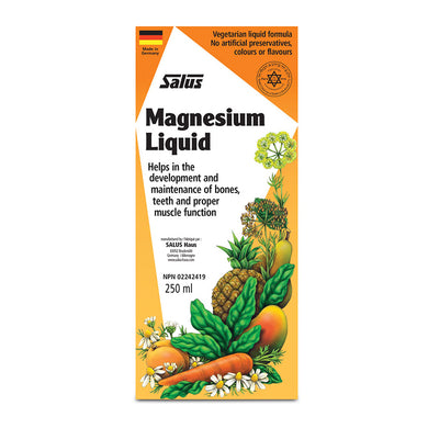 Salus Magnesium Liquid 250ml package