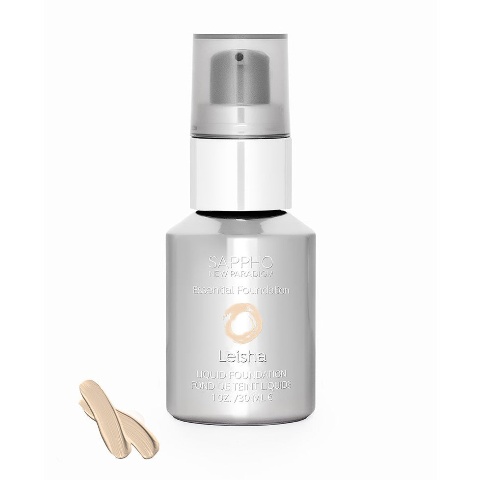 Sappho Leisha Liquid Foundation in new container style