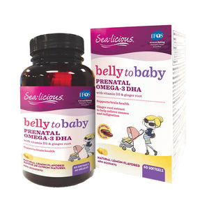 Sea-Licious Belly to Baby Prenatal Omega-3 DHA
