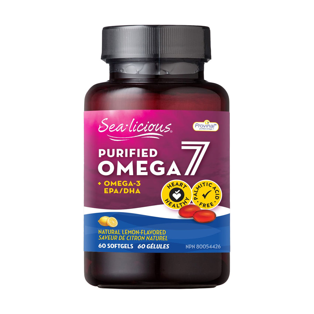 Sea-Licious Purified Omega-7 bottle