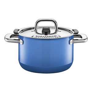 Silit Nature Colours 20cm High Casserole, Blue