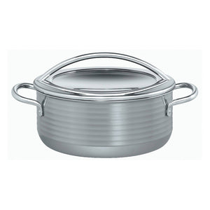 Silit 24cm Diameter Vision Low Casserole Pot