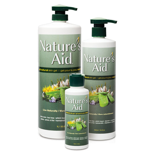 Nature's Aid - All Natural Skin Gel