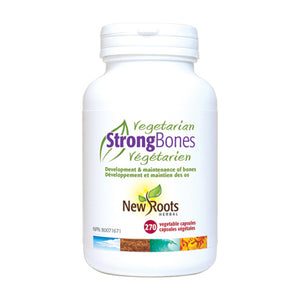 New Roots Herbal Strong Bones, Vegetarian type