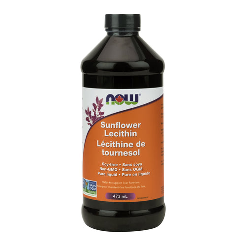 473 ml Bottle of NOW Sunflower Lecithin