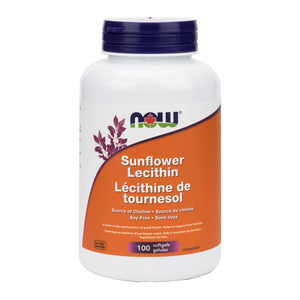 NOW Sunflower Lecithin Capsules