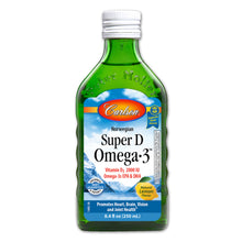 Load image into Gallery viewer, Super D Omega-3 Liquid