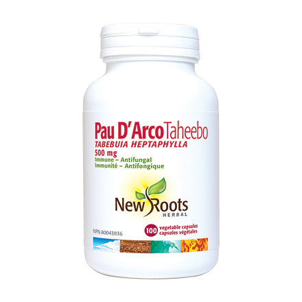 New Roots Herbal Pau d'Arco, capsules